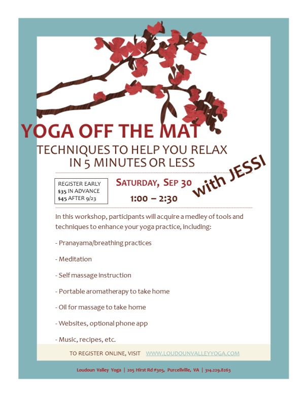 Yoga Off the Mat with Jessi_30Sep2017
